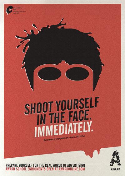 Brutally Honest Poster Ads