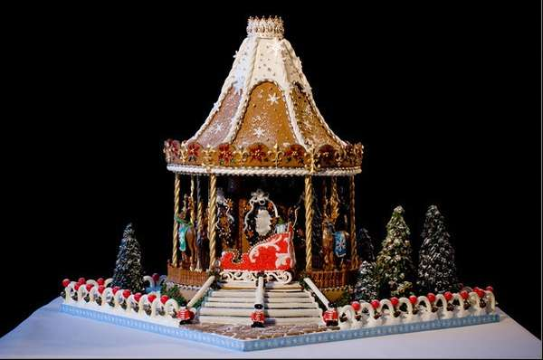 Innovative Gingerbread Architecture