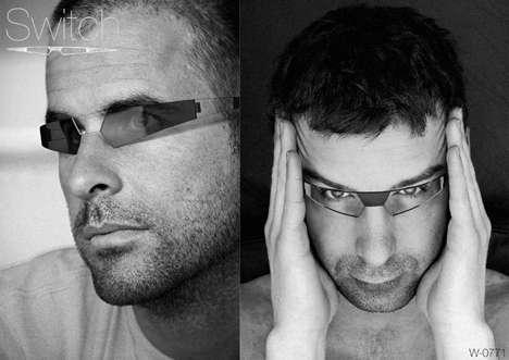 Futuristic Glasses Fashion Funky Futuristic Eye Glasses