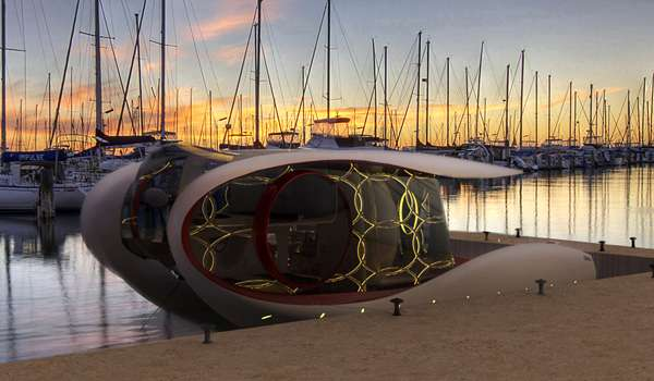 Intergalactic-Inspired Yachts