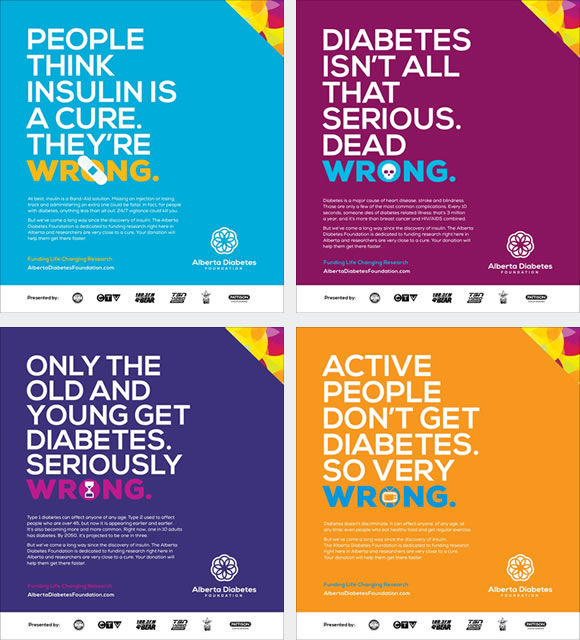 Truthful Diabetes Posters