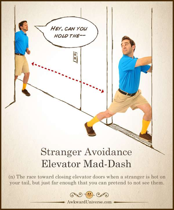 Embarrassing Elevator Encounters