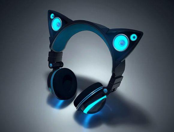 Feline Speaker Headphones