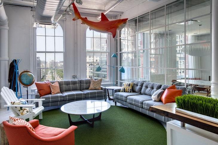 Residence-Inspired Office Interiors