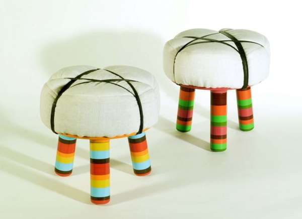 Popsicle-Legged Chairs