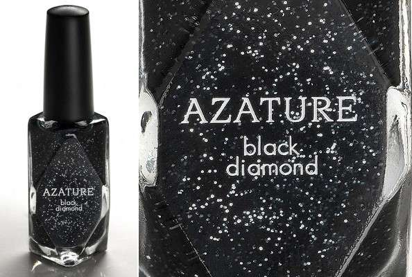 Azature 'Black Diamond' Nail Polish