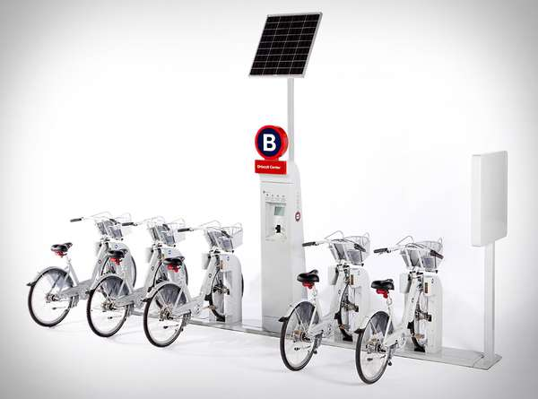 Stylized Bike Sharing