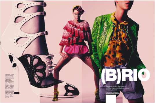 Flamboyant Flashback Lookbooks
