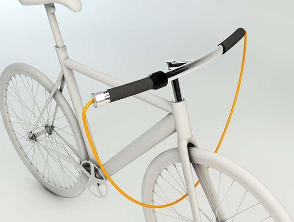 Jump Rope Bike Locks