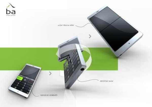 Reversible Smart Phone Keypads