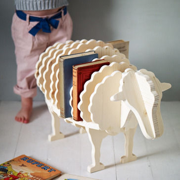 Farm Animal Book Shelves