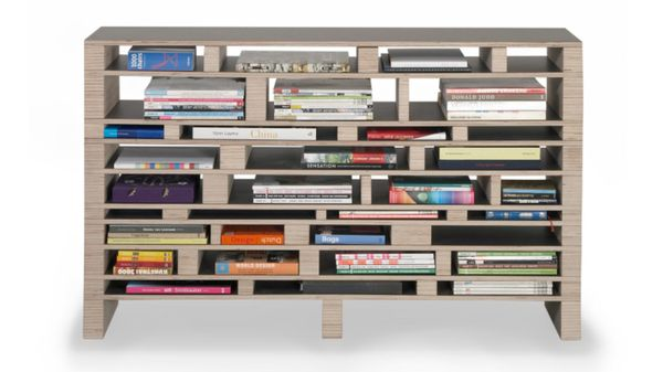 Haphazard Horizontal Shelves