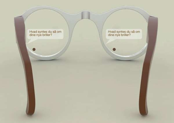 Ocular Text Lenses