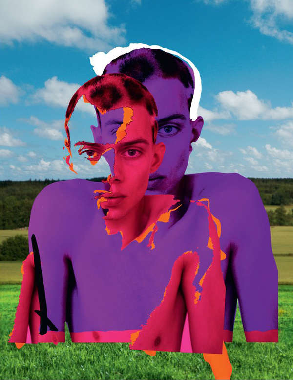 Psychedelic Pop-Art Collages