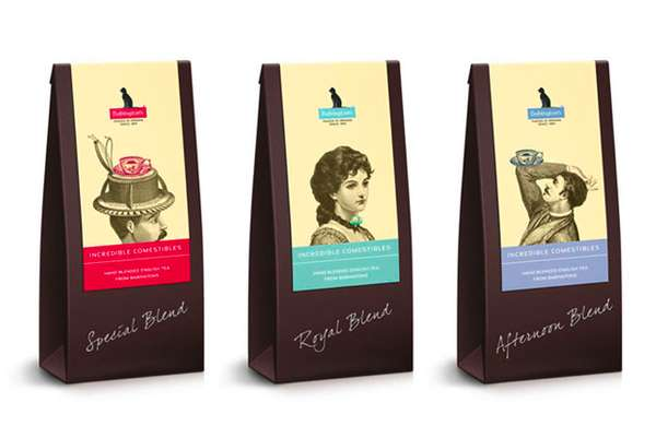 Babingtons English Tea Room Branding