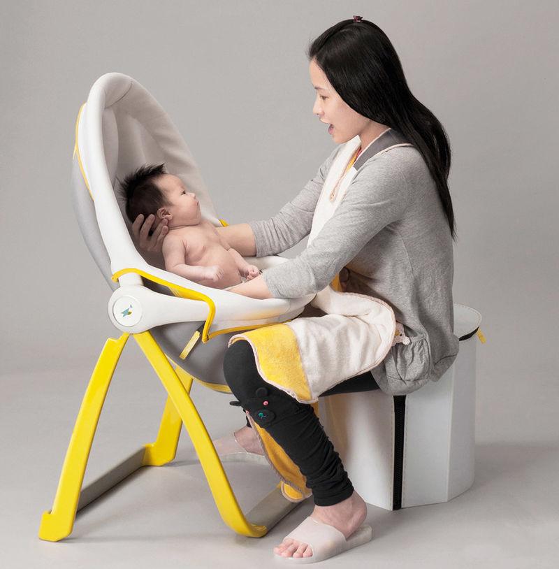 Folding Infant Bathing Systems