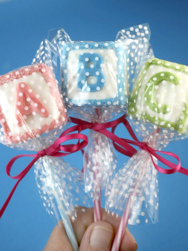 Alphabet Cake Pops