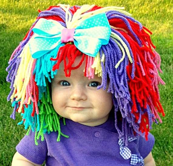 Hilarious Infant Hair Hats