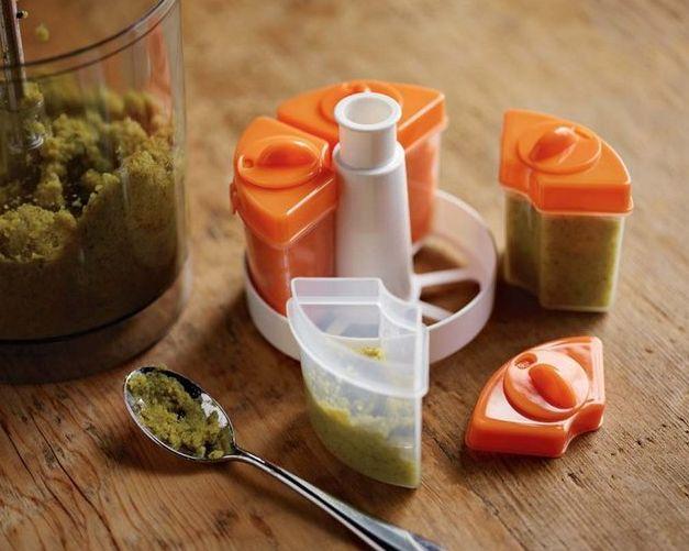 Circle Shaped Food Modular Food Storage S...