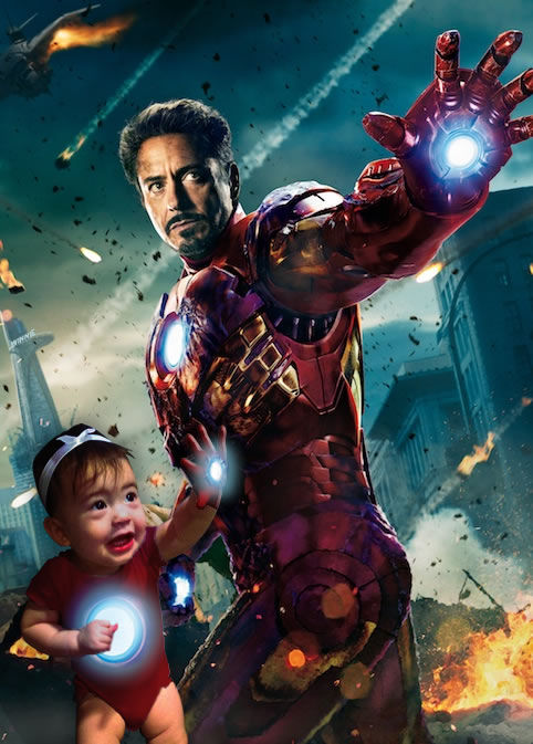 Infant-Infused Movie Posters