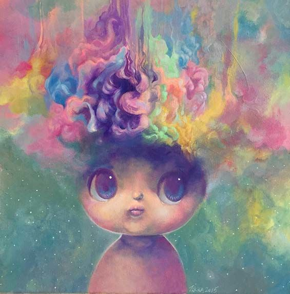 Whimsical Baby Paintings