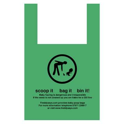 Bio-Degradable Baby Poop Scoop Bag
