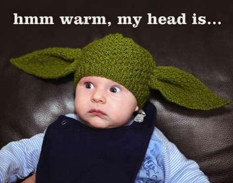 Sci-Fi Baby Bonnets