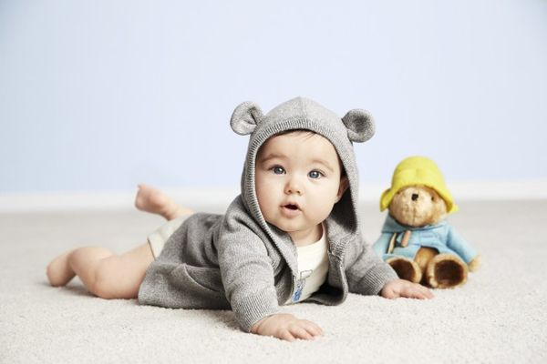 Cartoon Bear Baby Wear