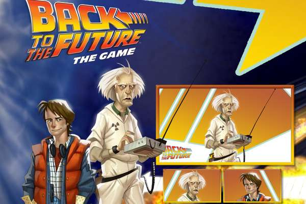 back to the future video game