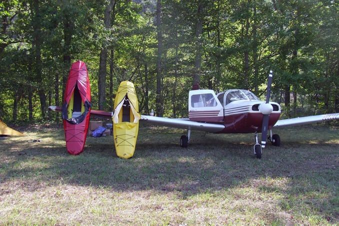Folding Backpack Boats
