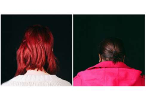 Backwards Portraits by Alice Jones