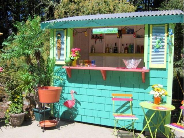 Diy Bar Shacks Backyard Bar
