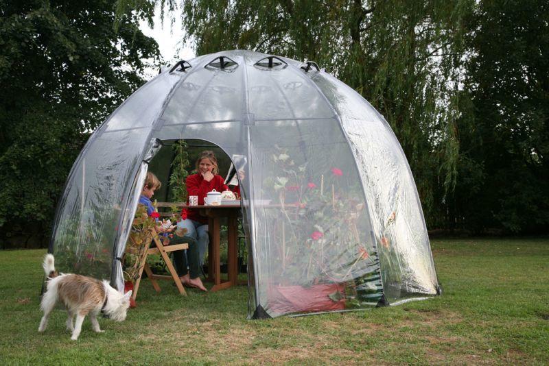 Portable Backyard Greenhouses