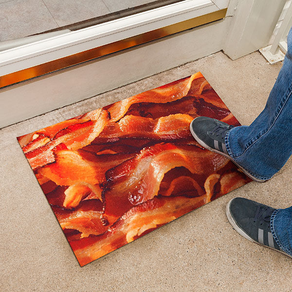 Delectable Pork Welcome Mats
