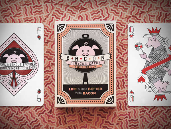 Bacon-Inspired Card Games
