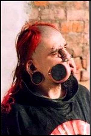 Blinding Body Modifications