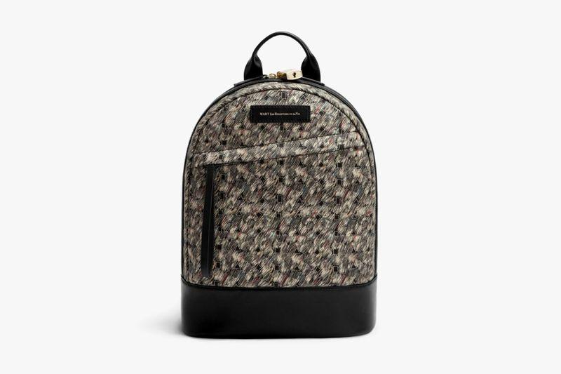 Retro Paisley-Patterned Luggage