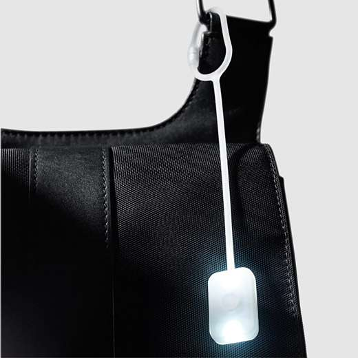 Illuminating Satchel Clamps