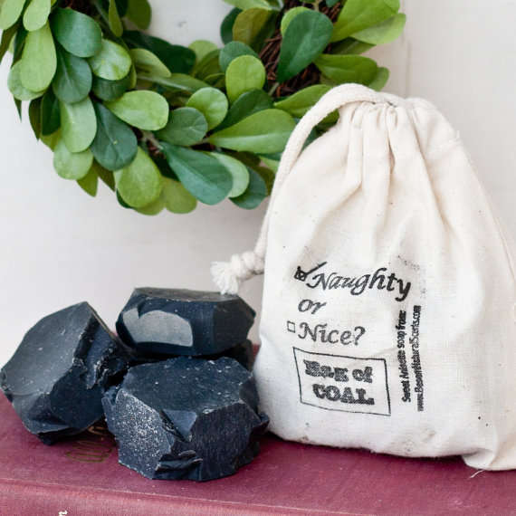 bag of coal soap