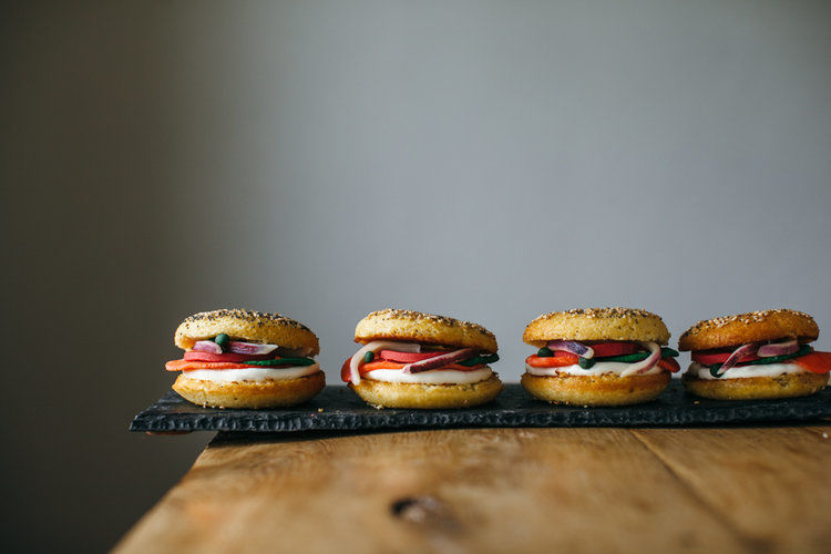 Fishy Donut Burgers
