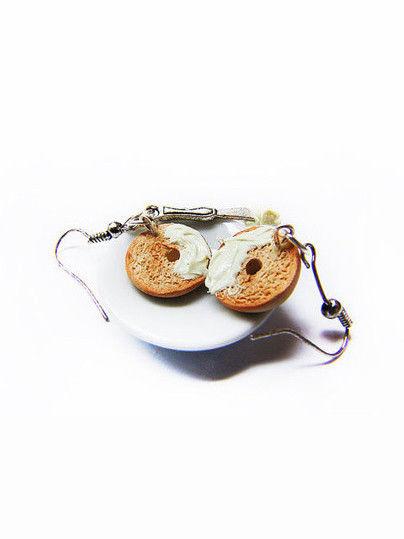 Quirky Bagel Earrings