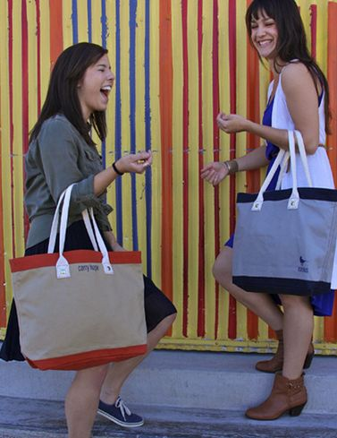 Charitable Leather Totes
