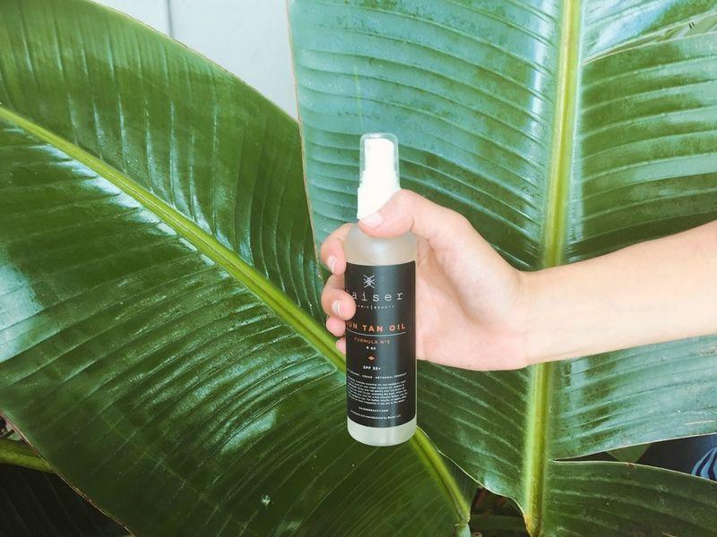 Organic Sun Tanning Oils