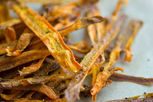 Curry Carrot Chips