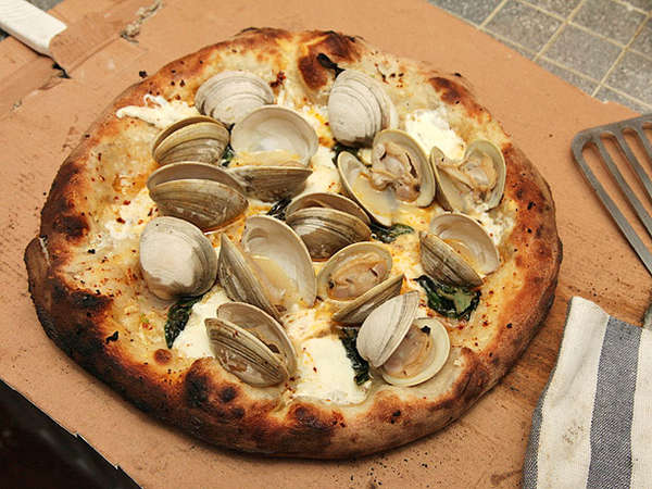 Baked Clam Pizza