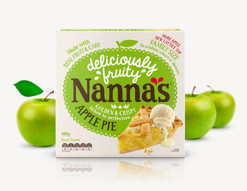 Playful Apple Pie Labels