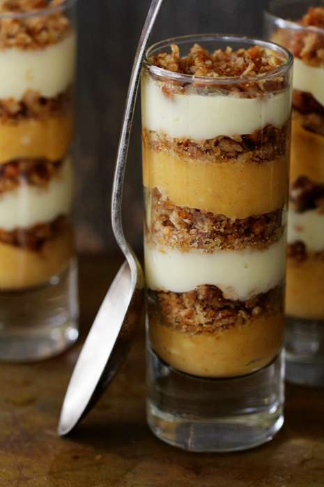 Bakers Royale Pumpkin Praline Trifle