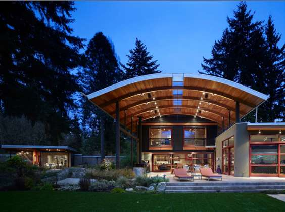 Oversized Canopy Homes