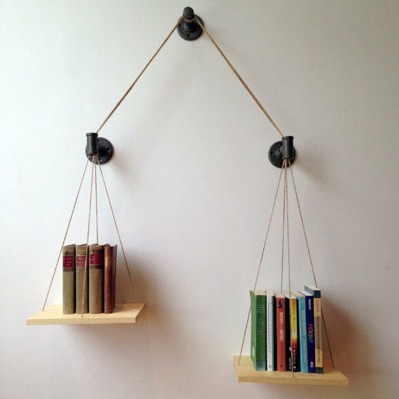 Equilibrium-Inspired Book Stands