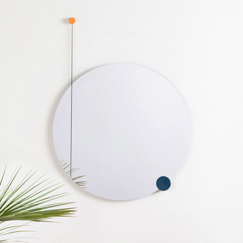 Modernly Mounted Mirrors